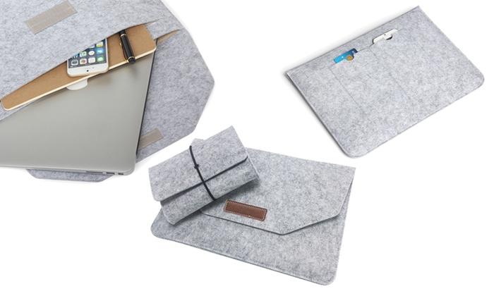 Up To 68% Off on MacBook Laptop FELT Sleeve Ba...  29484936e9de0