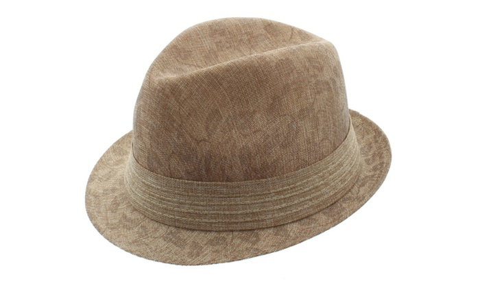 Milani Hamptons Woven Fedora Hats ... 7376df54817