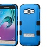 Insten Hard Dual Layer Hybrid Case For Samsung Galaxy J3 2016 Blue/blk