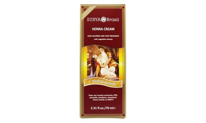 4a1ea9340fe7e Up To 14% Off on Surya Brasil Henna Cream   Groupon Goods