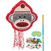 Sock Monkey Red Pinata Kit Party Supplies