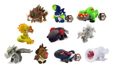 Capcom Monster Hunter Plush Toys - 10 Characters Available a233a3e8-5105-4133-936e-bbac4cda7420