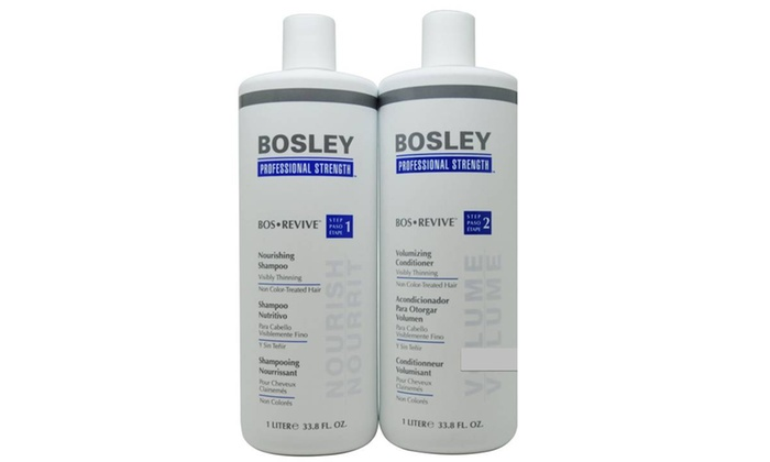 Bosley Bos Revive Liter for Non Color-Treated Hair Shampoo & Conditioner