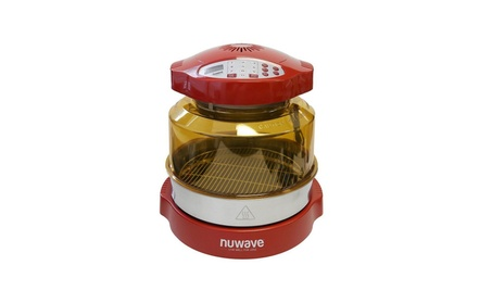 "NuWave Pro Plus Oven with 3"" Extender Ring Kit - Red 6a3e74fd-f79c-4cf3-a113-136ebc6add19"