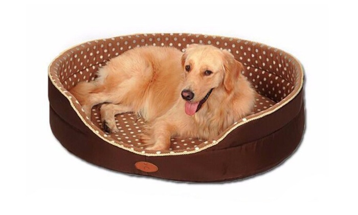 Double Sided Dog Bed Kennel Pet Dog Cat Warm Bed Groupon