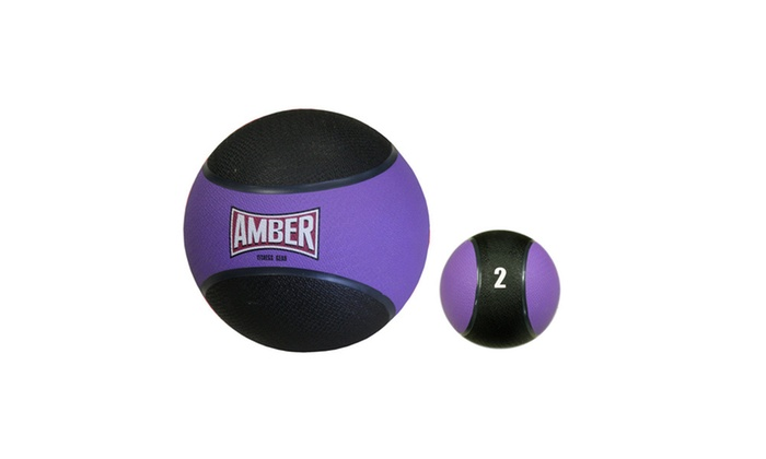 Groupon Goods: Rubber Medicine Ball