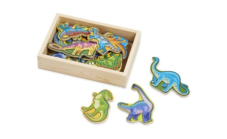 Melissa & Doug Magnetic Wooden Dinosaurs in a Wooden Storage Box 3306d356-cdcf-43b6-908d-2b7f34ca17a9