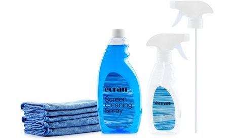 Screen Cleaning Kit with 16.9 oz Screen Cleaning Fluid