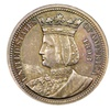 1893 Isabella Quarter Very Rare 1 Year Only Type Coin Estate Find