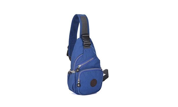 Women's Outdoor Sports Casual Canvas Crossbody  Shoulder Bag