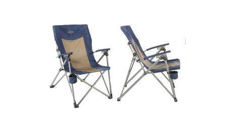 Kamp-Rite 3 Position Hard/Arm Reclining Chair w/Cup Holder 5133e321-3f4e-4e37-b169-f612ac7b542d