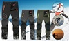 TOMEKA Men's Outdoor Quick Dry Pants Side Elastic Waist Breathable Hiking Pants