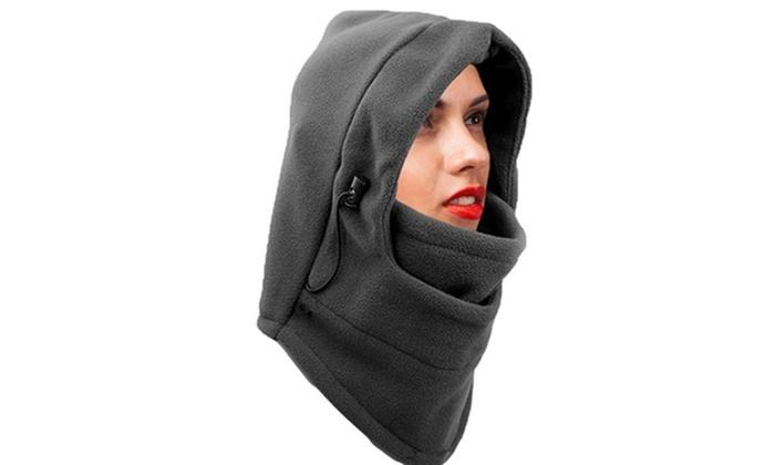 3bbe53d18 New Women's Hoodies Balaclava Fleece Winter Warm Fleece Ski Face ...