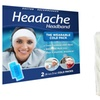 Cold Pack Headband for Headache or Migraine