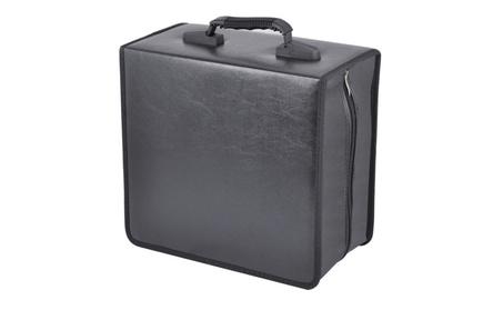 400 Disc CD DVD Bluray Storage Binder Book Carrying Case 79b485fa-d3a8-4776-a22c-8d8458e82949