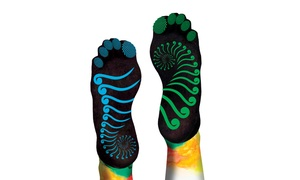 Pure Body Logix Yoga Socks with or without Toes
