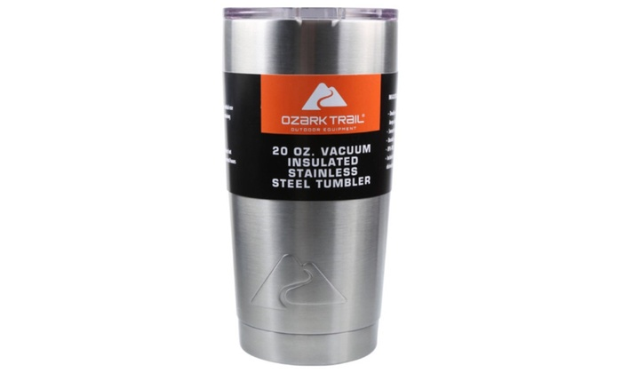 Ozark Trail Outdoor Equipment 20 oz. Vacuum Insulated Stainless Steel