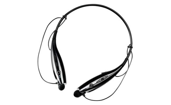 de3dacd8241 Magnavox MBH513 Bluetooth Wireless Neckband Ear Bud Headphones Black