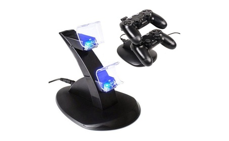 Dual USB LED Charger Dock Station for PlayStation PS4 Controller 227f1d98-027f-40a3-b033-eb9692504d59
