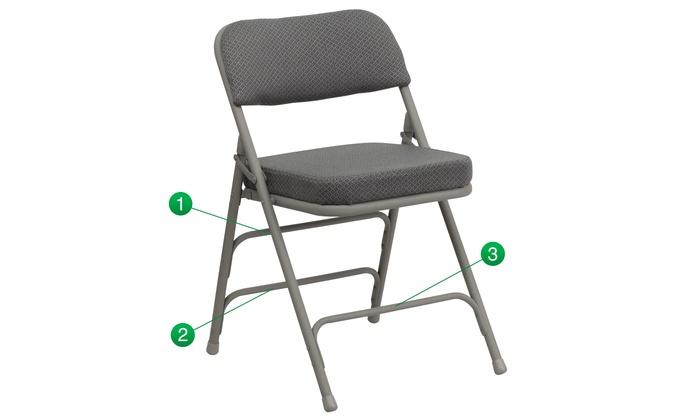Astonishing Up To 25 Off On Padded Folding Chair Groupon Goods Uwap Interior Chair Design Uwaporg