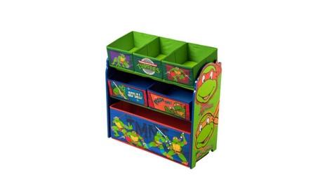 Delta Children Nickelodeon Teenage Mutant Ninja Turtles Multi-Bin Toy e4e28f2b-c1a0-4a0a-a865-b217aef8df68
