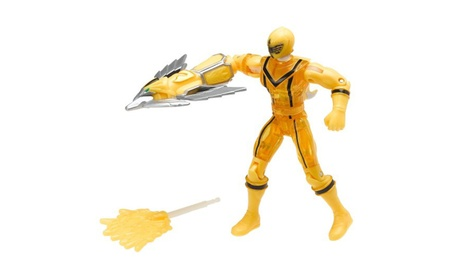 "Power Rangers Mystic Force: Crystal Yellow 5"" Action Figure 2b0c808f-d0eb-4749-8f66-f02ef50eaf2e"