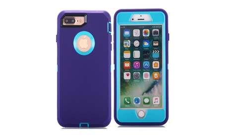 Shockproof Rugged Hybrid Case Protector for iPhone 7 or iPhone 7 Plus