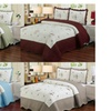 "Laura's Lace ""Chelsea"" Embroidered Quilt Set (3-Piece)"