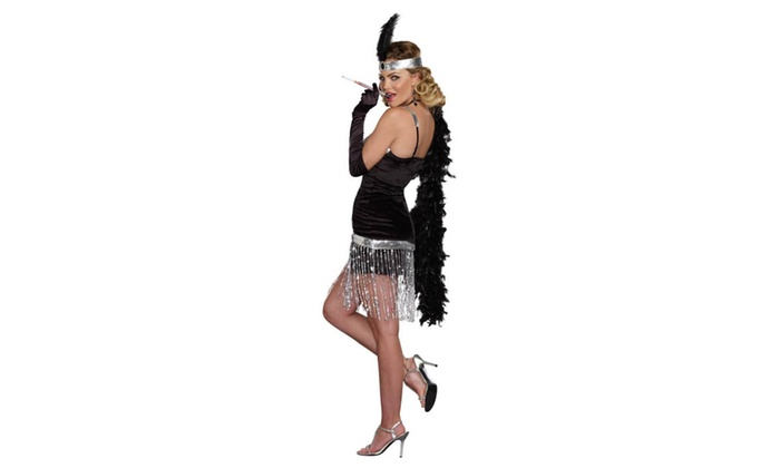 Simply Fab 1920's Flapper Prohibition size M Gatsby Costume Dreamgirl