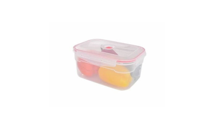 Lasting Freshness 10105 Vacuum Rectangular Food Storage Container