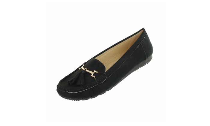 Red Circle Women's Madrio Moc. With Tassel
