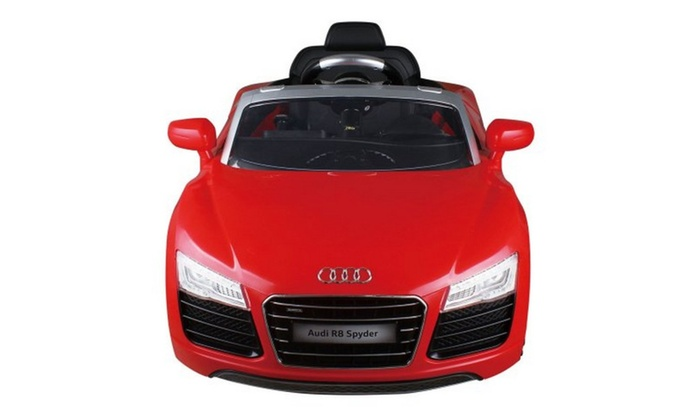 Audi Kids V Electric Ride On Car With MP RC Remote Control Car - Audi remote control car