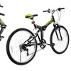 Folding 6 Speed Mountain Bike Adjustable Handle Seat Shimano Bicycle