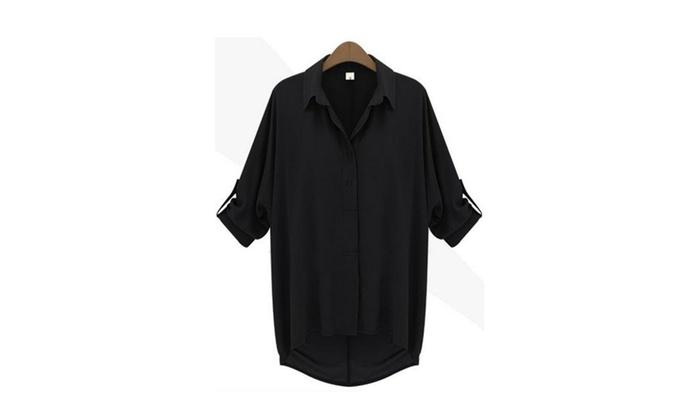 Women Relaxing Loose Formal Shirt and Blouse – JPWSB789-JPWSB790-791