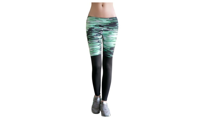 SSNB Women's Sexy Activewear Stretch Pants Yoga Leggings
