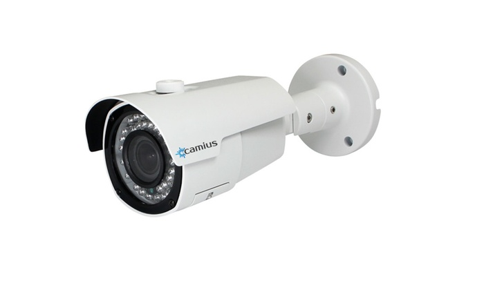 Camius 4MP HD Bullet PoE IP Security Camera with Night Vision 164 feet