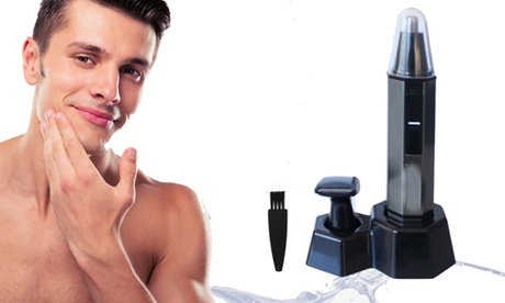 Men Triple Action Personal Groomer Wireless Hair Stubble Beard Travel Trimmer 62f11b81-6bc2-4136-983b-6d6b55a382c8