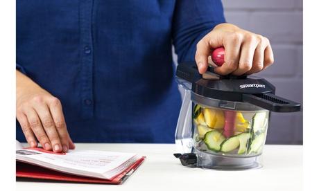 Easy-to-Use SlideChop Kitchen Gadget Vegetable Chopper