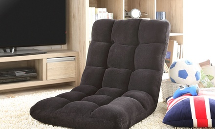 2-in-1 Microplush Recliner Chair and Folding Floor Mat