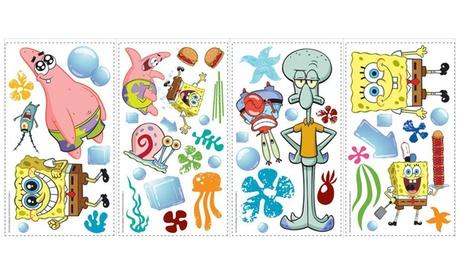 Roommates Spongebob Squarepants Peel And Stick Wall Decals c661c6b9-dd03-4357-89e5-d3842b19b86e