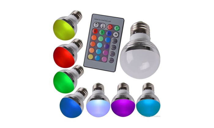 New LED RGB Magic Light Bulb Lamp Color Changing With Remote Control