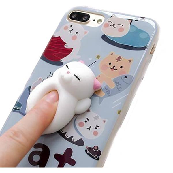 super popular 392b5 c24f9 SquishiCase Cute Squishy Animal Phone Case