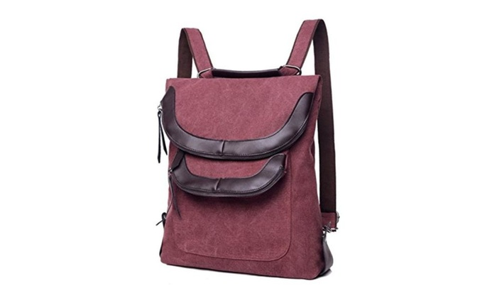 JOYSKY HB440107 Explosion Models Canvas Fashion Sports Women's Handbag,Vertical Square Backpack