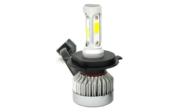 2 pcs H1 LED Headlight Bulb High Low Beam Conversion Xenon 6000K 2000W 240000LM