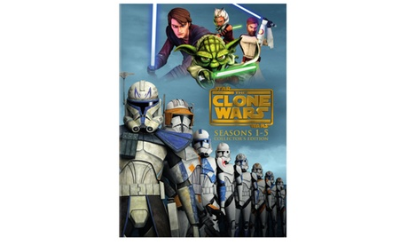 Star Wars: The Clone Wars: Season 1-5 Collector's Edition (DVD) e739dede-1aac-4902-ba32-77a2ceca4f9c