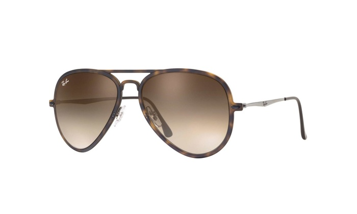 Ray Ban RB4211 894/13 Light Ray II Tortoise Gunmetal Frame/Brown Lens