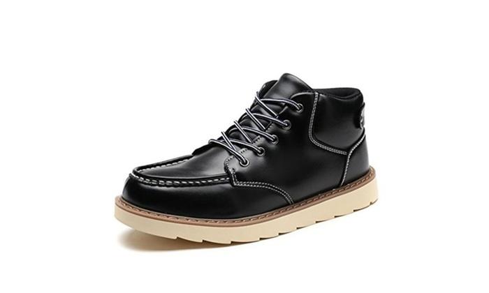 Men's winter fashion Martin boots