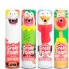 Crazy Foam - Holiday 4 Pack, Santa, Elf, Reindeer, Penguin