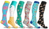 DCF Fun and Expressive Compression Socks (3-Pack)