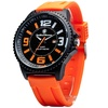 Smith & Wesson EGO Series Watch with Orange Silicon Strap